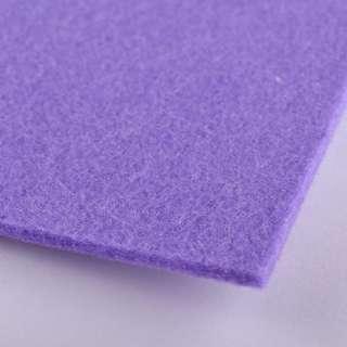 Повсть (для рукоділля) блідо-фіолетова (3 мм) ш.100