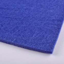Войлок (для рукоделия) синий (3мм) ш.100