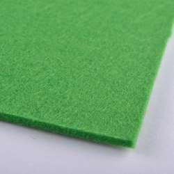 Войлок (для рукоделия) зеленый (весенний) (3мм) ш.100