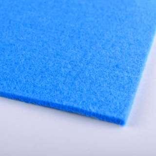 войлок (для рукоделия) сине-голубой (3мм) ш.100