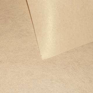 Повсть синтетична для рукоділля пісочна (0,95мм) ш.85