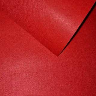 Повсть синтетична для рукоділля червона (0,95мм) ш.85
