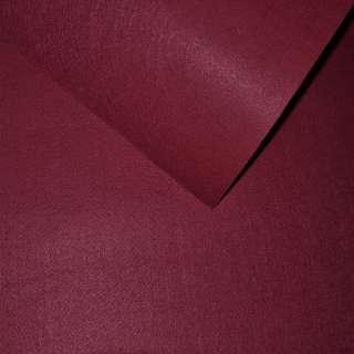 Повсть синтетична для рукоділля бордова (0,95мм) ш.85