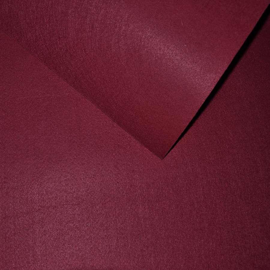 Войлок синтетический для рукоделия бордовый (0,95мм) ш.85