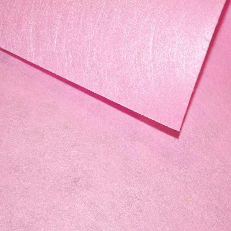 войлок (для рукоделия) розовый светлый (0,9мм) ш.85