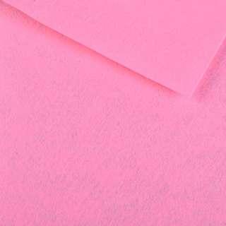 Повсть синтетична для рукоділля рожева (0,95мм) ш.85