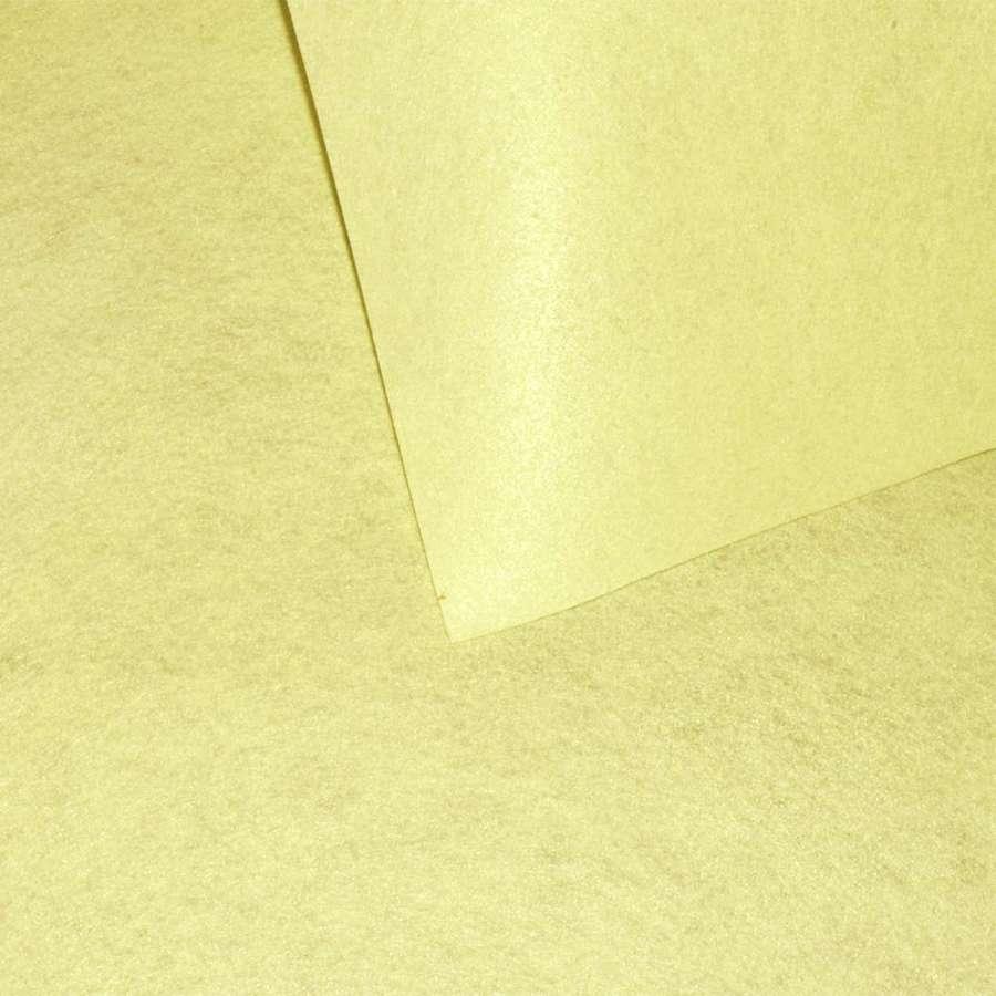 войлок (для рукоделия) ванильный (0,9мм) ш.85