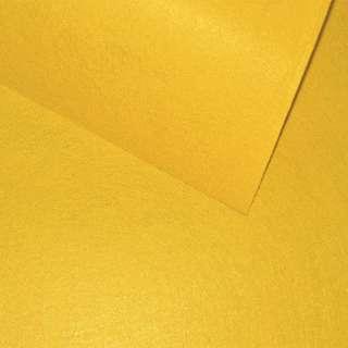 Повсть (для рукоділля) гірчично-жовта (0,9мм) ш.85