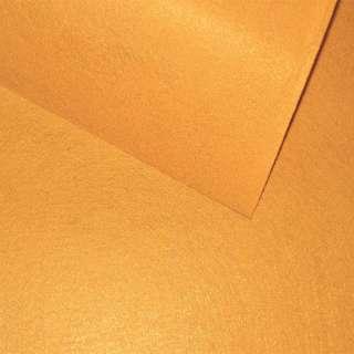 войлок (для рукоделия) горчичный (0,9мм) ш.85