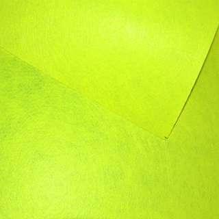 Войлок (для рукоделия) желтый неоновый (0,9мм) ш.85