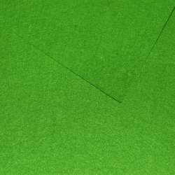 Фетр (для рукоделия) зеленый лесной (0,9мм) ш.85