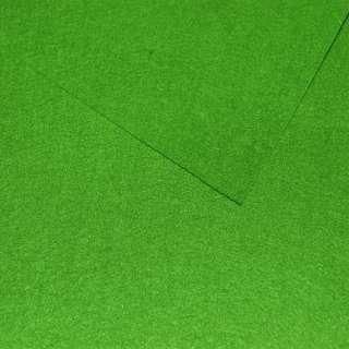 Войлок синтетический для рукоделия зеленый лесной (0,95мм) ш.85