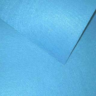 Повсть (для рукоділля) блакитна яскрава (0,9мм) ш.85