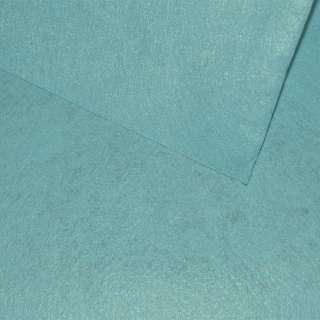 Войлок синтетический для рукоделия голубой лазурный (0,95мм) ш.85