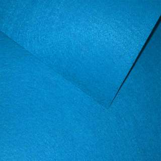 Войлок (для рукоделия) синий яркий (0,9мм) ш.85