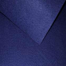 Войлок синтетический для рукоделия синий темный (0,95мм) ш.85