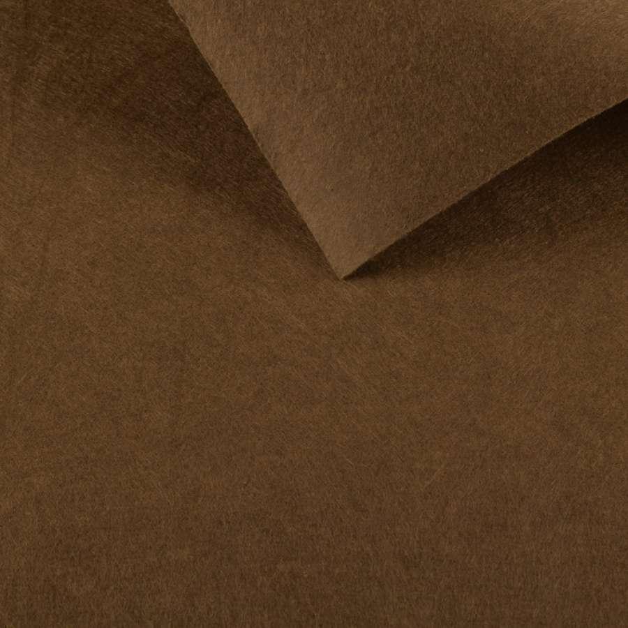 войлок (для рукоделия) кофейный светлый (0,9мм) ш.85