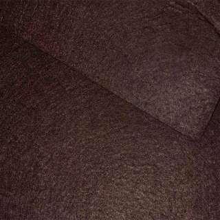 Повсть (для рукоділля) коричнева темна (0,9мм) ш.85