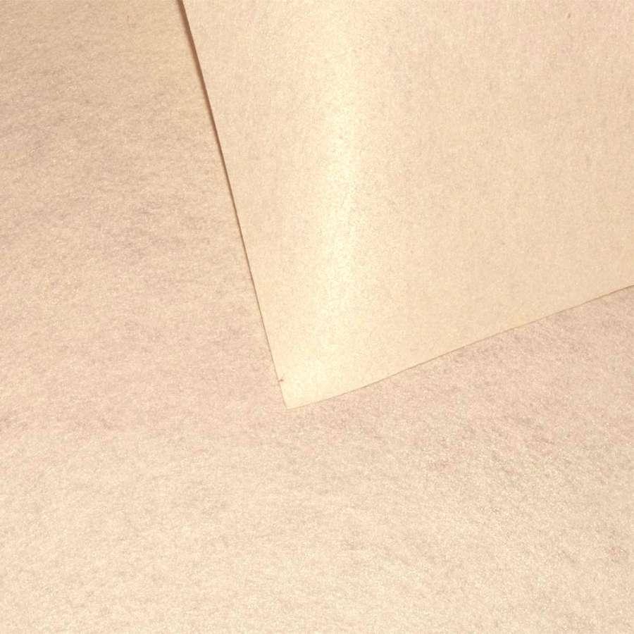 Повсть синтетична для рукоділля персикова світла (0,95мм) ш.85