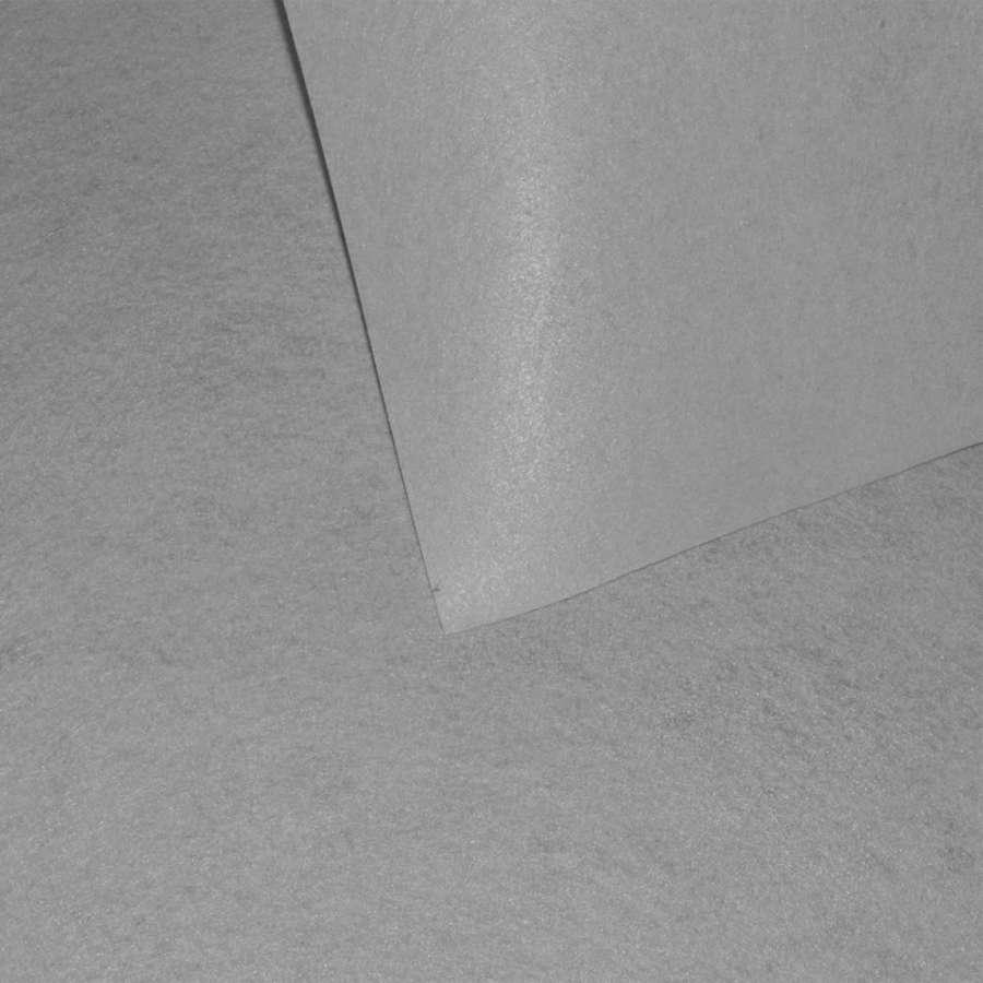 Войлок синтетический для рукоделия серебристо-серый (0,95мм) ш.85