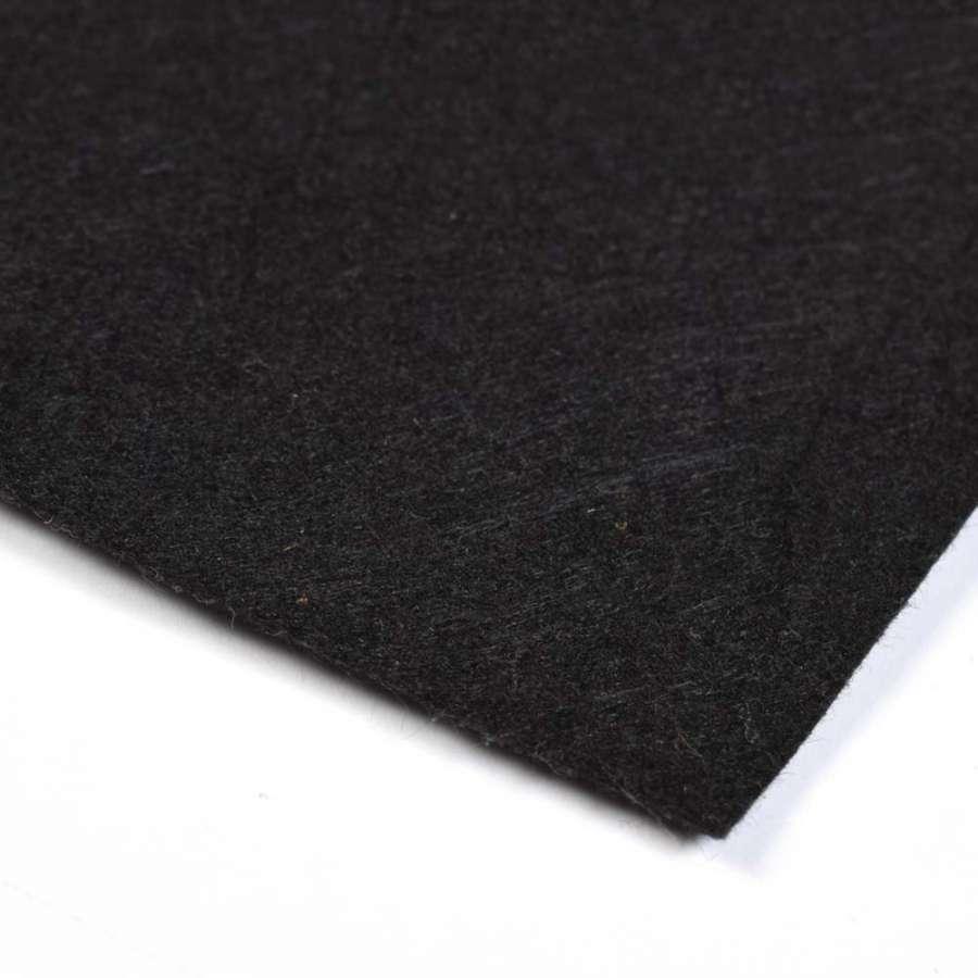 Войлок синтетический для рукоделия (0,9мм) черный ш.160