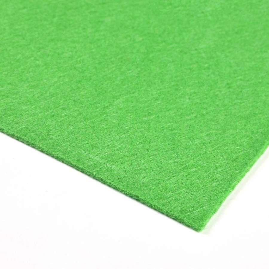 Войлок синтетический для рукоделия (0,9мм) зеленый ш.150
