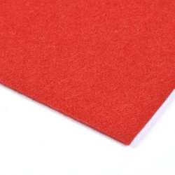 Войлок синтетический для рукоделия (0,9мм) красный ш.150