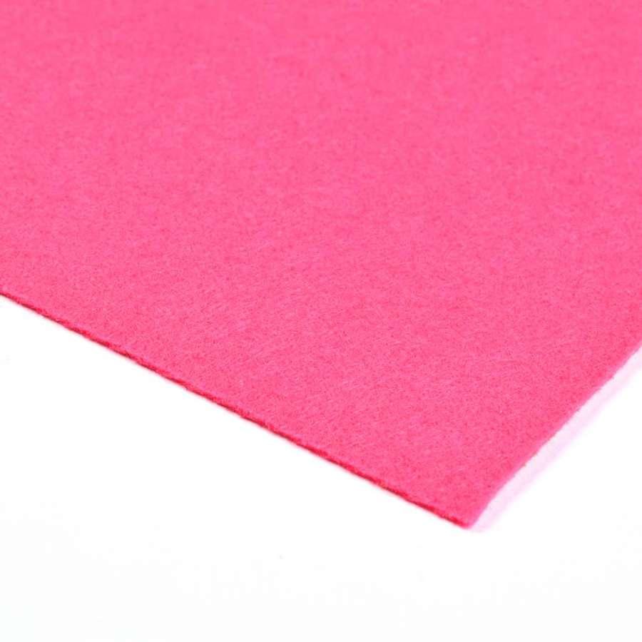 Войлок синтетический для рукоделия (0,9мм) малиновый ш.150