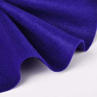 Войлок синтетический для рукоделия мягкий (2мм) ультрамарин, ш.85