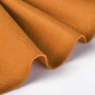 Повсть синтетична для рукоділля м'який (2 мм) рудий, ш.85