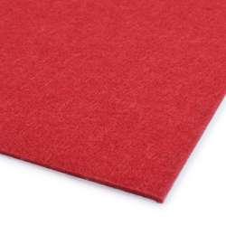 Повсть (для рукоділля) червона (2 мм) ш.100