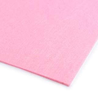 Повсть (для рукоділля) рожева (2 мм) ш.100