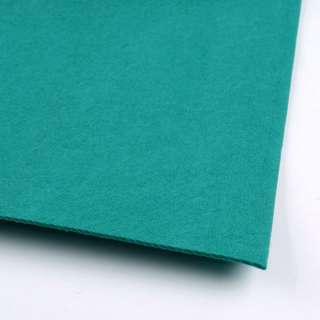 Фетр (для рукоделия) бирюзовый (2мм) ш.100