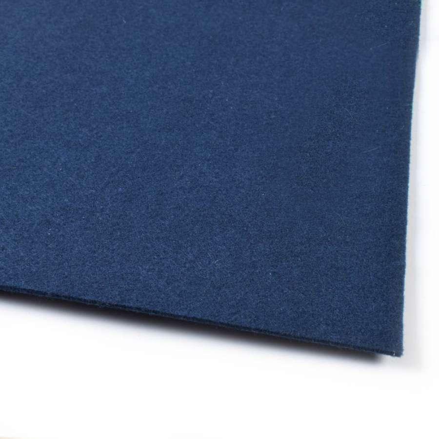 Войлок (для рукоделия) синий темный (2мм) ш.100