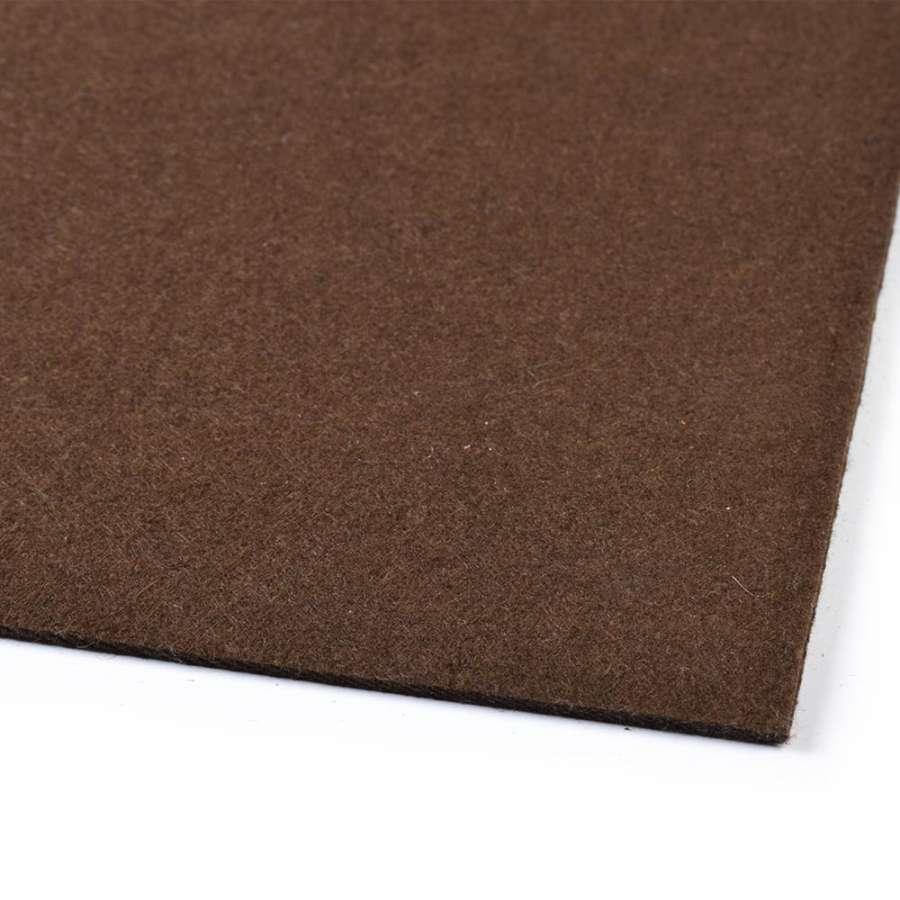 Повсть (для рукоділля) шоколадна (2 мм) ш.100