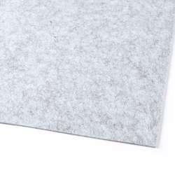 Повсть (для рукоділля) сіра світла меланж (2 мм) ш.100
