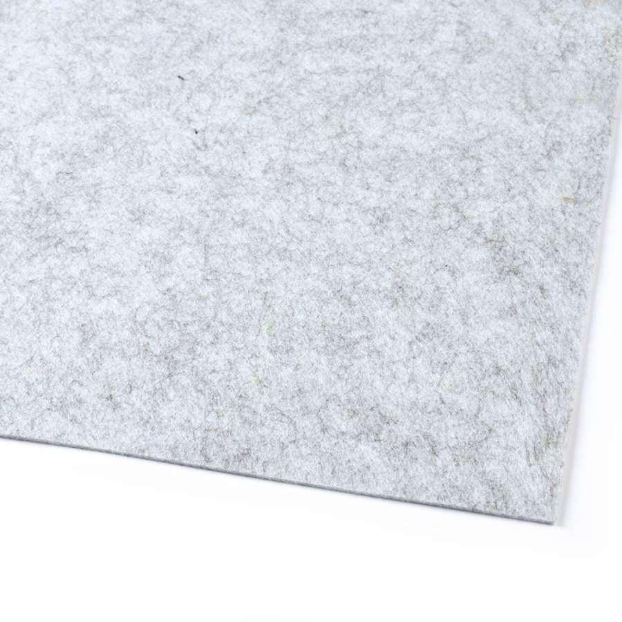 войлок (для рукоделия) серый светлый меланж (2мм) ш.100