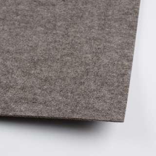 Фетр (для рукоделия) серый темный (2мм) ш.100