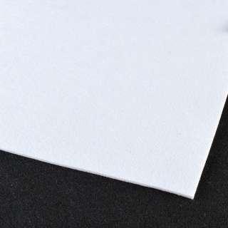 повсть (для рукоділля) білий (3 мм) ш.100