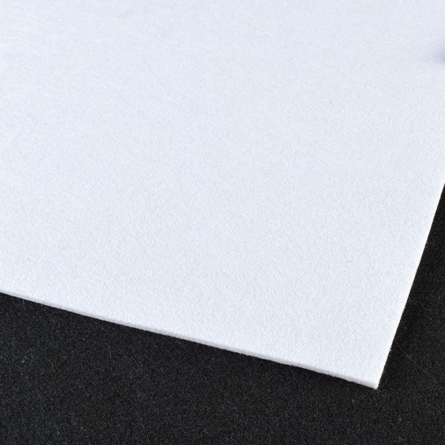 войлок (для рукоделия) белый (3мм) ш.100