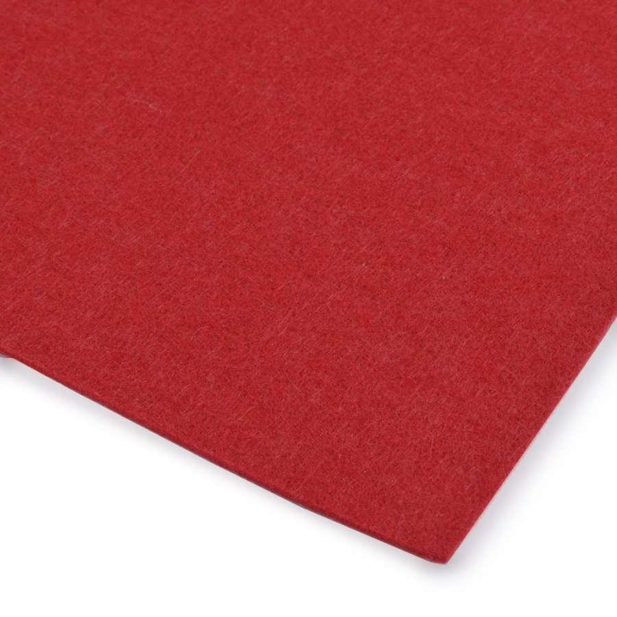 Повсть (для рукоділля) червона (3 мм) ш.100