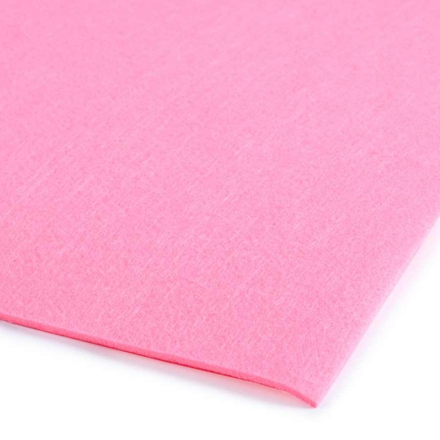 Повсть (для рукоділля) рожева (3 мм) ш.100