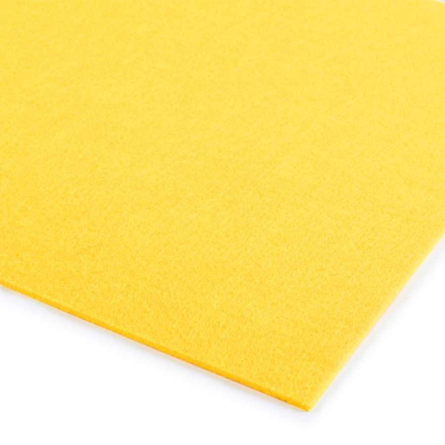 Войлок (для рукоделия) горчично-желтый (3мм) ш.100