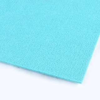 войлок (для рукоделия) голубой лазурный (3мм) ш.100
