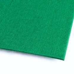 Повсть (для рукоділля) смарагдова (3 мм) ш.100