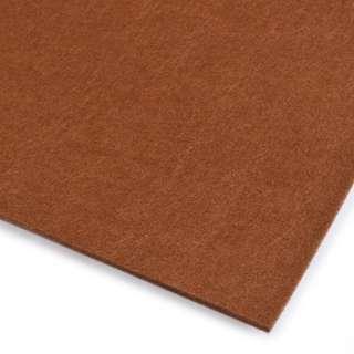 войлок (для рукоделия) коричневый (3мм) ш.100