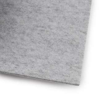 Фетр (для рукоделия) серый светлый меланж (3мм) ш.100