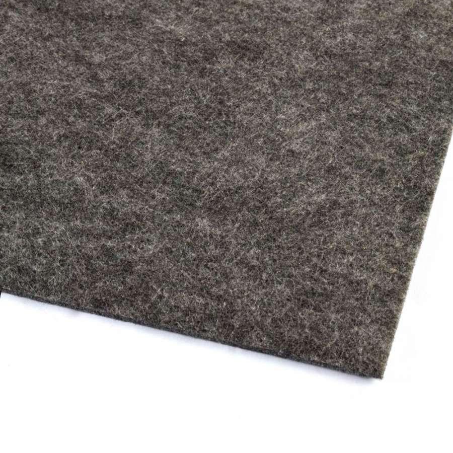 Повсть (для рукоділля) сіра темна (3 мм) ш.100