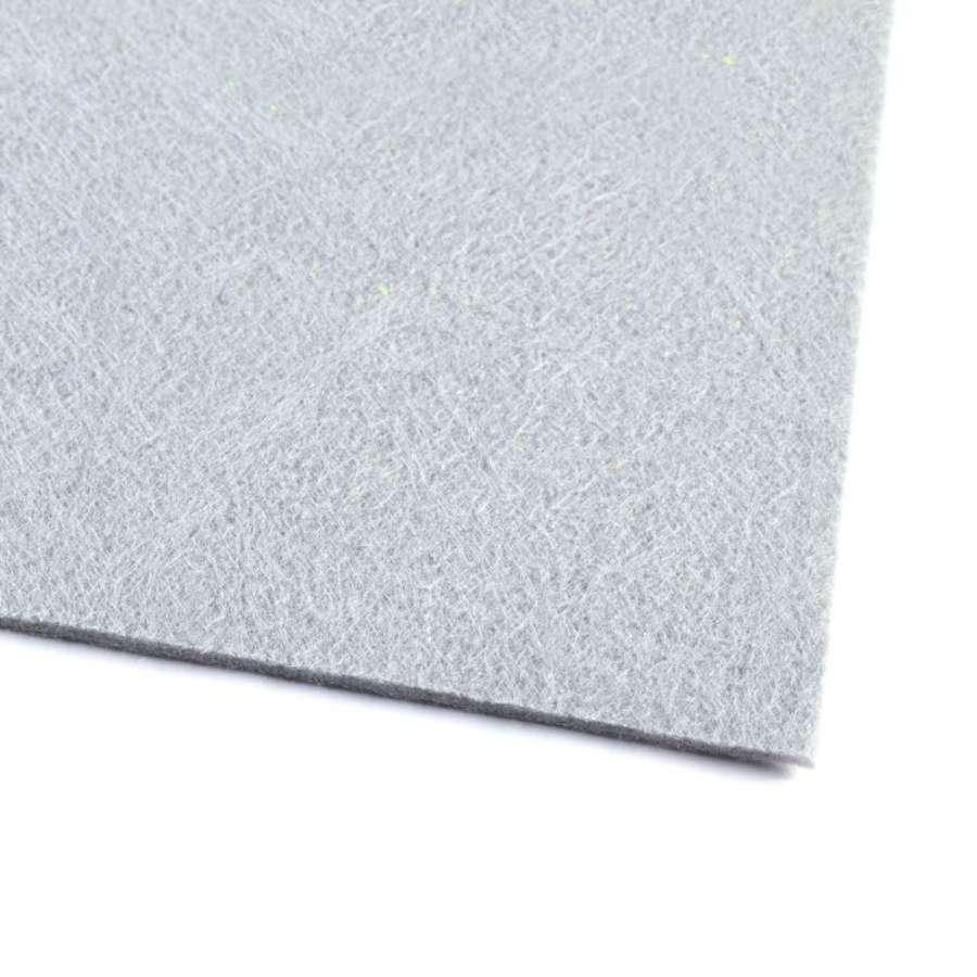 Повсть (для рукоділля) сіра (3 мм) ш.100
