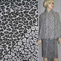 """Гобелен черно-белый """"леопард"""" ш.150"""